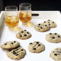 Bourbon Chocolate Chip Cookies