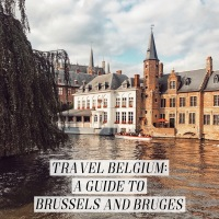 Travel Belgium: Brussels + Bruges